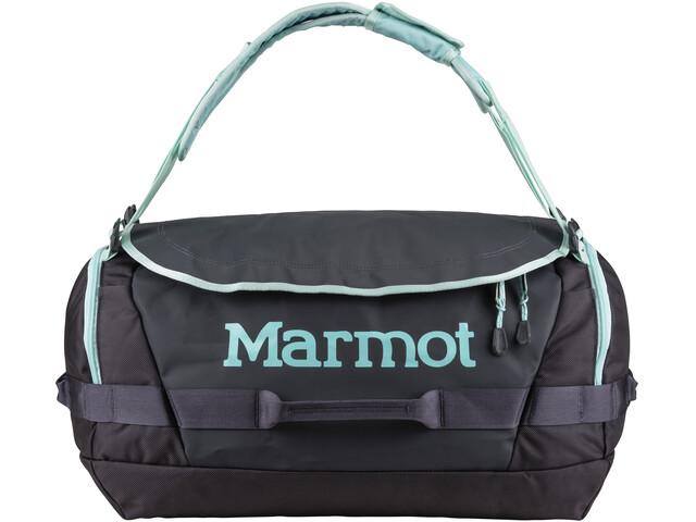Marmot Long Hauler Duffel Bag Medium, dark charcoal/blue tint